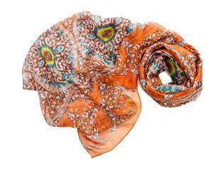 Женский шарф «Знойное лето»